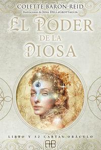 PODER DE LA DIOSA, EL (+52 CARTAS ORACULO)