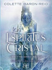 ESPIRITUS CRISTAL, LOS - LIBRO Y 58 CARTAS