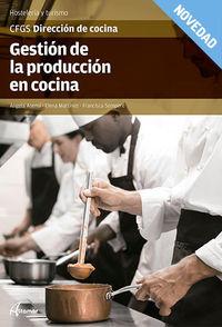 GS - GESTION DE LA PRODUCCION EN COCINA