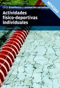 GS - ACTIVIDADES FISICO-DEPORTIVAS INDIVIDUALES