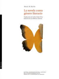 NOVELA COMO GENERO LITERARIO, LA