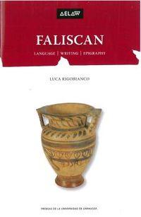 Faliscan - Languae, Writing, Epigraphy - Luca Rigobianco