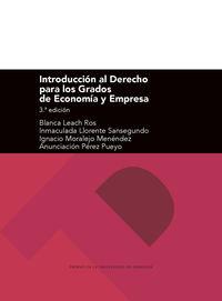 (3 ED) INTRODUCCION AL DERECHO PARA LOS GRADOS DE ECONOMIA Y EMPRESA