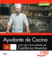 TEST - AYUDANTE DE COCINA (CLM) - JUNTA DE CASTILLA-LA MANCHA