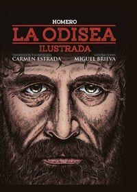 Odisea, La - Ilustrada - Homero / Miguel Brieva (il. )