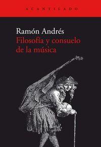 FILOSOFIA Y CONSUELO DE LA MUSICA