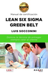 LEAN SIX SIGMA GREEN BELT - MANUAL DE CERTIFICACION