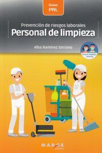 PREVENCION DE RIESGOS LABORALES - PERSONAL DE LIMPIEZA