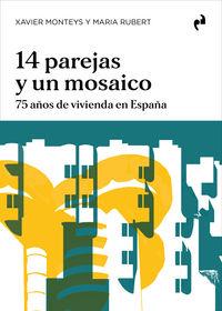 14 PAREJAS Y UN MOSAICO