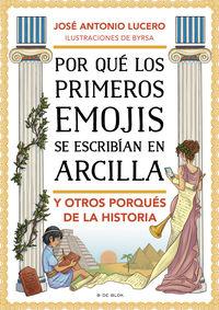 POR QUE LOS PRIMEROS EMOJIS SE ESCRIBIAN EN ARCILLA Y OTROS PORQUES DE LA HISTORIA