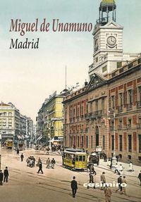 Madrid - Miguel De Unamuno
