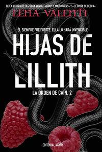 HIJAS DE LILLITH (LA ORDEN DE CAIN 2)
