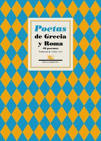 POETAS DE GRECIA Y ROMA - 40 POEMAS