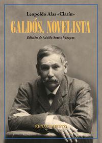 Galdos, Novelista - Leopoldo Alas Clarin