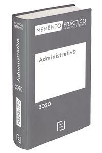 Memento Administrativo 2020 - Aa. Vv.
