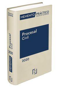 MEMENTO PRACTICO PROCESAL CIVIL 2020
