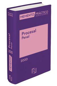 MEMENTO PRACTICO PROCESAL PENAL 2020