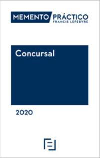 Memento Practico Concursal 2020 - Aa. Vv.