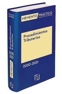 MEMENTO PROCEDIMIENTOS TRIBUTARIOS 2020-2021