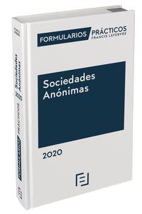 FORMULARIOS PRACTICOS SOCIEDADES ANONIMAS 2020