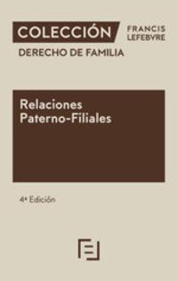 (4 ED) RELACIONES PATERNO-FILIALES