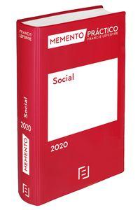 MEMENTO PRACTICO SOCIAL 2020