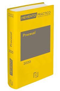 MEMENTO PRACTICO PROCESAL 2020