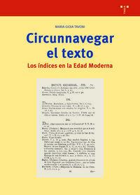 CIRCUNNAVEGAR EL TEXTO - LOS INDICES EN LA EDAD MODERNA