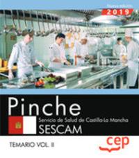TEMARIO II - PINCHE (SESCAS) - SERVICIO SALUD CASTILLA LA MANCHA 2019