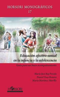 EDUCACION AFECTIVO-SEXUAL EN LA INFANCIA Y LA ADOLESCENCIA