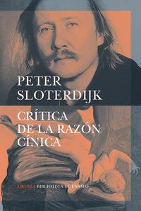 Critica De La Razon Cinica - Peter Sloterdijk