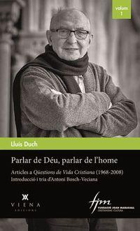 PARLAR DE DEU, PARLAR DE L'HOME