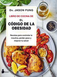 LIBRO DE COCINA DE EL CODIGO DE LA OBESIDAD, EL