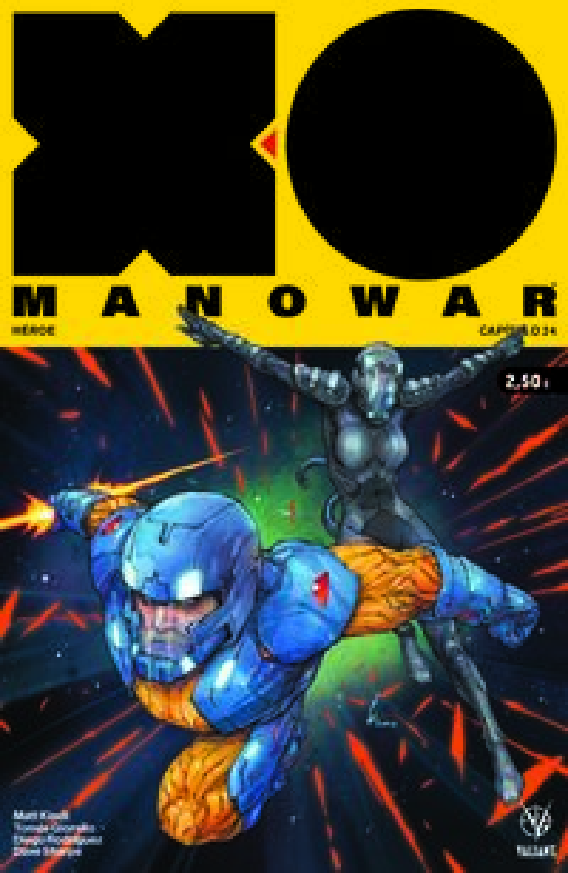 Xo Manowar 24 - Matt Kindt