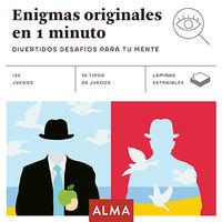 Enigmas Originales En 1 Minuto - Aa. Vv.