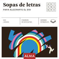 Sopas De Letras Para Alegrarte El Dia - Aa. Vv.