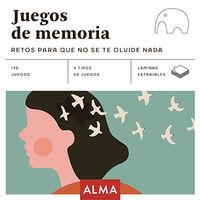 Juegos De Memoria - Retos Para Que No Se Te Olvide Nada - Aa. Vv.