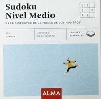 SUDOKU NIVEL MEDIO PARA DISFRUTAR DE LA MAGIA DE LOS NUMEROS