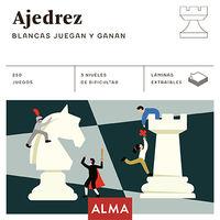 AJEDREZ - BLANCAS JUEGAN Y GANAN
