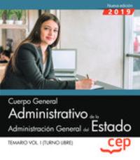TEMARIO 1 - ADMINISTRATIVO - ADMINISTRACION GENERAL DEL ESTADO