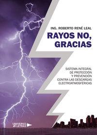 RAYOS NO, GRACIAS