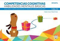 competencias cognitivas. habilidades mentales basicas 4.2 progresint integrado infantil - apoyo basico cognitivo para estimular un desarrollo competencial adecuado - Carlos Yuste Hernanz / David Yuste Peña