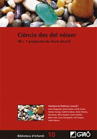 CIENCIA EN LA PRIMERA INFANCIA - 49+1 PROPUESTAS DE LIBRE ELECCION