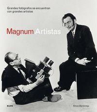MAGNUM ARTISTAS - GRANDES FOTOGRAFOS SE ENCUENTRAN CON GRANDES ARTISTAS