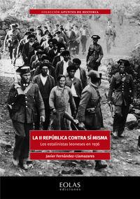 II REPUBLICA CONTRA SI MISMA, LA - LOS ESTALINISTAS LEONESES EN 1936