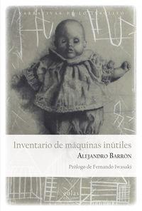 INVENTARIO DE MAQUINAS INUTILES