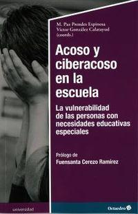 Acoso Y Ciberacoso En La Escuela - M. Paz Prendes Espinosa / Victor Gonzalez Calatayud
