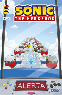 Sonic - The Hedhegog 7 - Ian Flynn / Adam Bryce Thomas