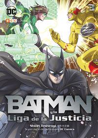 BATMAN Y LA LIGA DE LA JUSTICIA 3