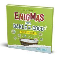 ENIGMAS PARA DARLE AL COCO - CULTURA GENERAL